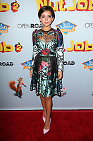 05 August 2017 - Los Angeles, California - Isabela Moner. &quot;Nut Job 2: Nutty by Nature&quot; World Premiere held at Regal Cinema at L.A. Live. <br /> CAP/ADM/FS<br /> &copy;FS/ADM/Capital Pictures