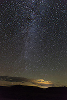 Milky Way and the lights of Gunnison