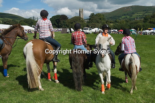 Widecomb Fair Widecombe in the Moor Dartmoor Devon Uk. The church of Saint Pancras.
