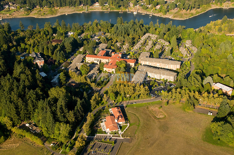 Aerial of Mary's Woods Retirement Community, Lake Oswego, Oregon