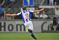 VOETBAL: HEERENVEEN: ABE LENSTRA STADION: 23-08-2013, SC Heerenveen - AJAX uitslag 3-3, goal Magnus Wolff Eikrem (NOR), ©foto Martin de Jong