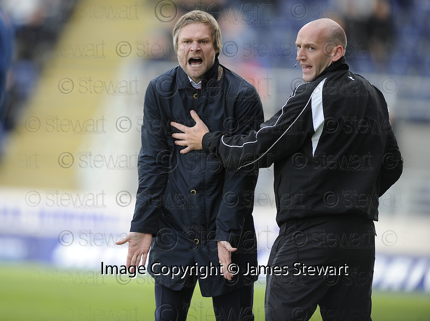 01/05/2010   Copyright  Pic : James Stewart.sct_jsp18_falkirk_v_st-mirren  .::  FALKIRK MANAGER STEVEN PRESSLEY ::  .James Stewart Photography 19 Carronlea Drive, Falkirk. FK2 8DN      Vat Reg No. 607 6932 25.Telephone      : +44 (0)1324 570291 .Mobile              : +44 (0)7721 416997.E-mail  :  jim@jspa.co.uk.If you require further information then contact Jim Stewart on any of the numbers above.........