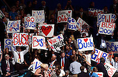 New York, NY - August 30, 2004 --  Signs during one of the demonstrations on the first night of the 2004 Republican Convention in Madison Square Garden in New York, New York on Monday, August 30, 2004..Credit: Ron Sachs / CNP.(RESTRICTION: No New York Metro or other Newspapers within a 75 mile radius of New York City)