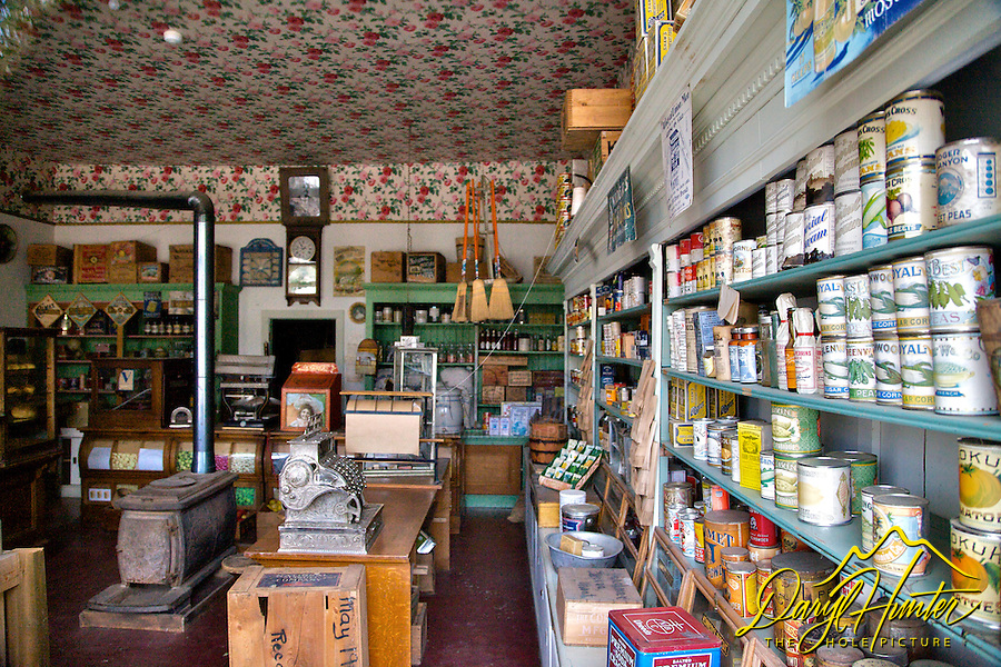 Old store, Virginia City Montana