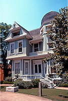 """Riverside CA: """"Heritage House"""",  1891. Built for Mrs. James Bettner, widow of a """"Citrus Pioneer""""   Photo '89."""