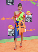Erin Lim at Nickelodeon's Kids' Choice Sports 2017 at UCLA's Pauley Pavilion. Los Angeles, USA 13 July  2017<br /> Picture: Paul Smith/Featureflash/SilverHub 0208 004 5359 sales@silverhubmedia.com
