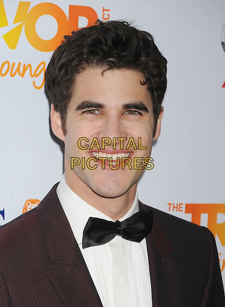 Darren Criss.Trevor Live at The Hollywood Palladium in Hollywood, California, USA..December 4th, 2011.headshot portrait white shirt brown maroon bow tie tuxedo.CAP/ROT/TM.©Tony Michaels/Roth Stock/Capital Pictures
