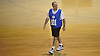 Bobby Fanning, 52, of Huntington Station participates in a Long Island Nets open tryout at LIU Post's Pratt Center in Brookville, NY on Saturday, Sept. 30, 2017.