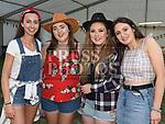 Moya Cullen, Sarah and Aime Bennett and Maria Carolan at the NECRET Barn Dance in Cushinstown AC. Photo:Colin Bell/pressphotos.ie