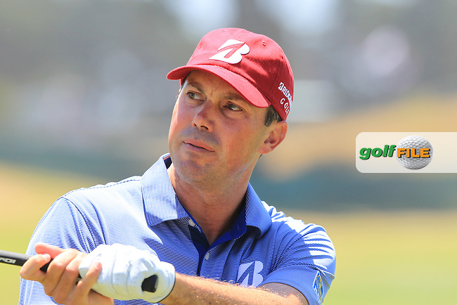 Matt Kuchar (USA) on the practice range before Saturday's  Round 3 of the 112th US Open Championship at The Olympic Club, San Francisco,  California, 16th June 2012 (Photo Eoin Clarke/www.golffile.ie)