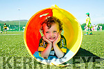 Donnacha Foley enjoying the John Mitchels GAA Club  summer camp for boys and girls aged between 5 and 12 years on Tuesday