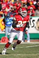 Chiefs safety Greg Wesley in action against Baltimore at Arrowhead Stadium in Kansas City, Missouri on December 10, 2006.The Ravens won 20-10.