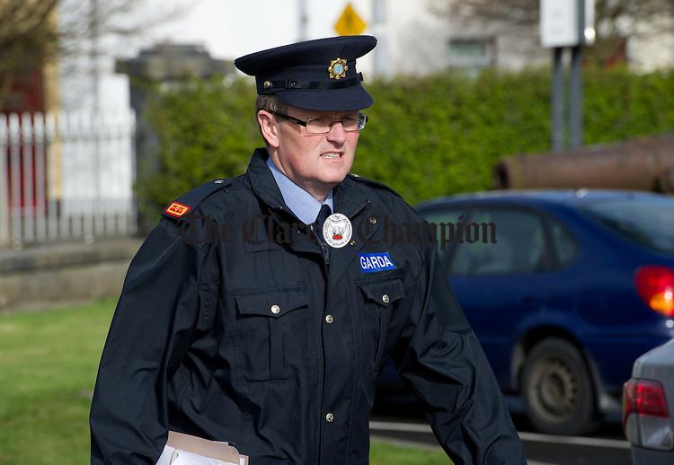 Inspector John Galvin. Photograph by John Kelly.