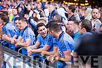 Dublin players celebrate in the Kerry v Dublin All Ireland Senior Football Final in Croke Park on the 20th September 2015.
