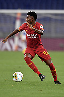 Amadou Diawara of AS Roma in action during the Serie A football match between AS Roma and UC Sampdoria at Olimpico stadium in Rome ( Italy ), June 24th, 2020. Play resumes behind closed doors following the outbreak of the coronavirus disease. AS Roma won 2-1 over UC Sampdoria. <br /> Photo Andrea Staccioli / Insidefoto