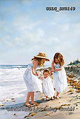 CHILDREN, KINDER, NIÑOS, paintings+++++,USLGSK0149,#K#, EVERYDAY ,Sandra Kock, victorian