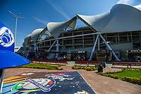 Panoramic view of the Estadio Charros de Jalisco Stadium prior to the beginning of the activities of the Caribbean Baseball Series with a competition between teams from Mexico, Cuba, Venezuela, Puerto Rico and the Dominican Republic,<br />
