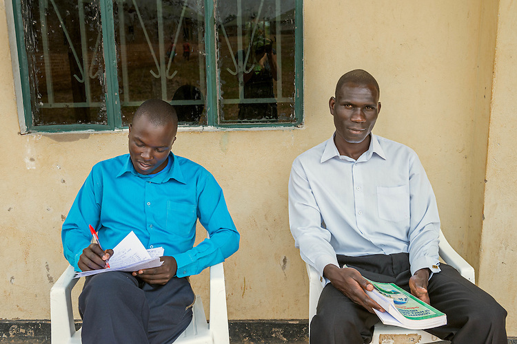 Two teachers at Hope North, Uganda.