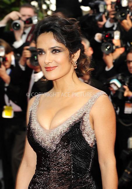 WWW.ACEPIXS.COM . . . . .  ..... . . . . US SALES ONLY . . . . .....May 18 2012, Cannes....Salma Hayek at the 'Once Upon A Time' premiere at the 65th Annual Cannes Film Festival during at Palais des Festivals on May 18, 2012 in Cannes, France.....Please byline: FAMOUS-ACE PICTURES... . . . .  ....Ace Pictures, Inc:  ..Tel: (212) 243-8787..e-mail: info@acepixs.com..web: http://www.acepixs.com