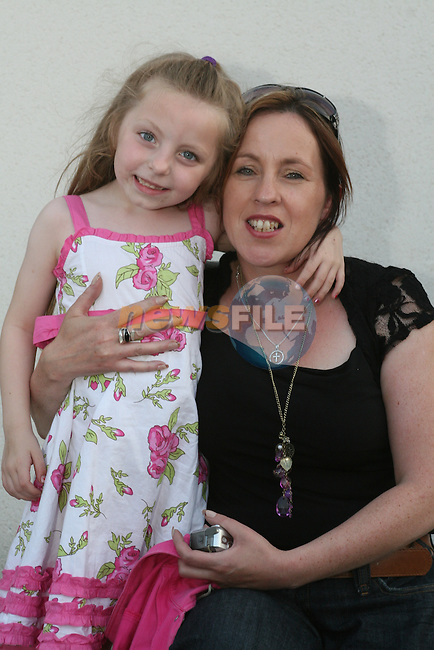 Tara and Rachel Coyle at the KidKast Summer Show in The TLT...Photo NEWSFILE/Jenny Matthews.(Photo credit should read Jenny Matthews/NEWSFILE)....This Picture has been sent you under the condtions enclosed by:.Newsfile Ltd..The Studio,.Millmount Abbey,.Drogheda,.Co Meath..Ireland..Tel: +353(0)41-9871240.Fax: +353(0)41-9871260.GSM: +353(0)86-2500958.email: pictures@newsfile.ie.www.newsfile.ie.FTP: 193.120.102.198.