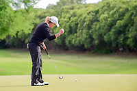 Cristie Kerr (USA) reacts to sinking her birdie putt on 17 during round 4 of  the Volunteers of America Texas Shootout Presented by JTBC, at the Las Colinas Country Club in Irving, Texas, USA. 4/30/2017.<br /> Picture: Golffile | Ken Murray<br /> <br /> <br /> All photo usage must carry mandatory copyright credit (&copy; Golffile | Ken Murray)