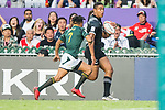 South Africa vs New Zealand during their Bronze Medal Final match as part of HSBC Hong Kong Rugby Sevens 2018 on 08 April 2018, in Hong Kong, Hong Kong. Photo by Chung Yan Man / Power Sport Images