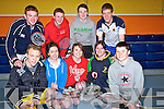 BADMINTON: Playing in the Div 5 Ladie and Men Badminton championship on Sunday in the Castleisland Community Centre, Front l-r: Daniel O'Connor (Castleisland), Aoife Healy and Jona Finucane (Listowel),Suzane Keane (Moyvane) and Ashley Kelliher (Listowel). Back l-r: Alan O'Connell (Castleisland), Darragh McCarthy, David Sheehan and Brendan Culhane (Listowel).