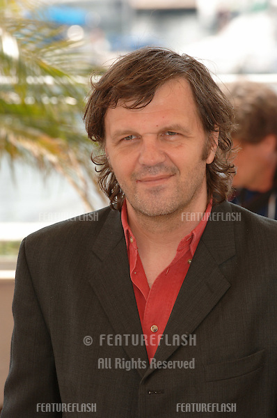 Director EMIR KUSTURICA at the 58th Annual Film Festival de Cannes where he is president of the Jury..May 11, 2005 Cannes, France..© 2005 Paul Smith / Featureflash