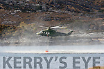 Irish Air Corp water bombing the Killarney National Park this evening helping the local brave fire men and women who have been fighting to save the National Park from one of the biggest fires ever to hit it