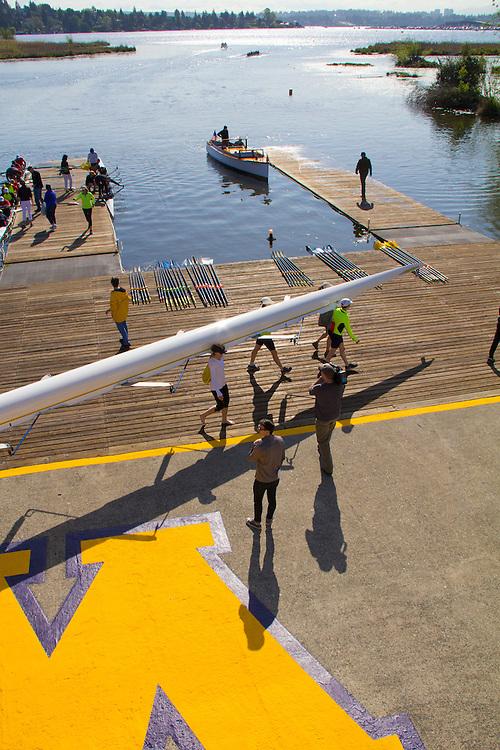 Rowing, Windermere Cup, Opening Day Regatta, Seattle, Washington, May 2 2015, Lake Washington Ship Canal, Montlake Cut,
