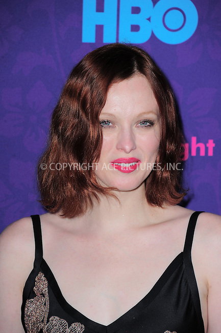 WWW.ACEPIXS.COM<br /> <br /> <br /> January 6, 2014, New York City, NY.<br /> <br /> <br /> Karen Elson arriving at the 'Girls' Season 3 Premiere at Jazz at Lincoln Center on January 6, 2014 in NEw York City, NY.<br /> <br /> <br /> <br /> <br /> By Line:  William Bernard/ACE Pictures<br /> <br /> ACE Pictures, Inc<br /> Tel: 646 769 0430<br /> Email: info@acepixs.com