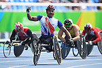 Prawat Wahoram (THA), <br /> SEPTEMBER 11, 2016 - Athletics : <br /> Men's 5000m T54 Final<br /> at Olympic Stadium<br /> during the Rio 2016 Paralympic Games in Rio de Janeiro, Brazil.<br /> (Photo by AFLO SPORT)