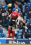 16.03.2019 Rangers v Kilmarnock: Nikola Katic and Stephen O'Donnell