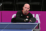 Peter Isherwood competes in mens table tennis at the 2019 ParaPan American Games in Lima, Peru-22aug2019-Photo Scott Grant
