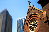 Photography of the St. Peter's Episcopal Church in Uptown/Downtown Charlotte, North Carolina.<br /> <br /> Charlotte Photographer -PatrickSchneiderPhoto.com