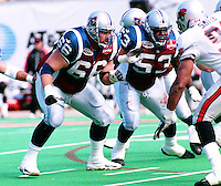 Neal Fort Montreal Alouettes 2000. Photo John Bradley