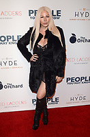 LOS ANGELES, CA - NOVEMBER 13: Joyce Bonelli at People You May Know at The Pacific Theatre at The Grove in Los Angeles, California on November 13, 2017. Credit: David Edwards/MediaPunch