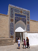 in der Festung Ark in Buchara, Usbekistan, Asien, UNESCO-Weltkulturerbe<br />