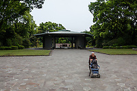 Chidorigafuchi National Cemetery in Kudanshita, Tokyo, Japan. Monday May 2nd  2016 This cemetery house the remains of the unidentified war dead from Japan's military expansion in WW2