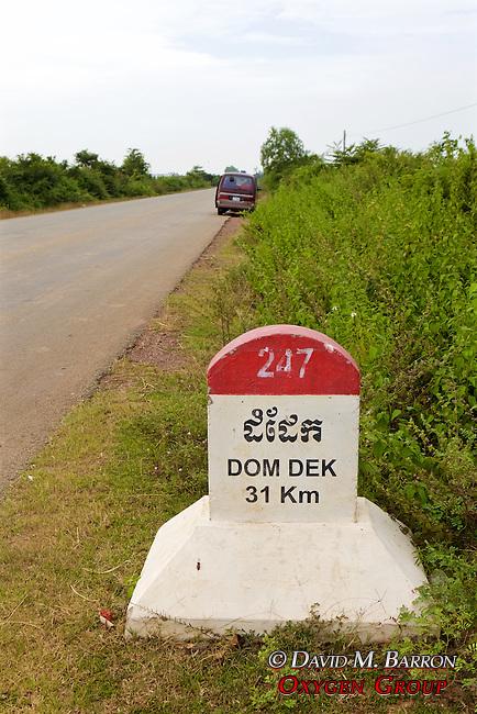 Dom Dek Road Marker