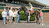 Victoria's Comet winning at Delaware Park on 8/1/11.