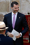 Prince Felipe of Spain attends the 'Principe de Viana' 2013 award .June 06,2013. (ALTERPHOTOS/Acero)