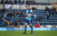 during the Sky Bet League 2 match between Wycombe Wanderers and Crawley Town at Adams Park, High Wycombe, England on 25 February 2017. Photo by Andy Rowland / PRiME Media Images.