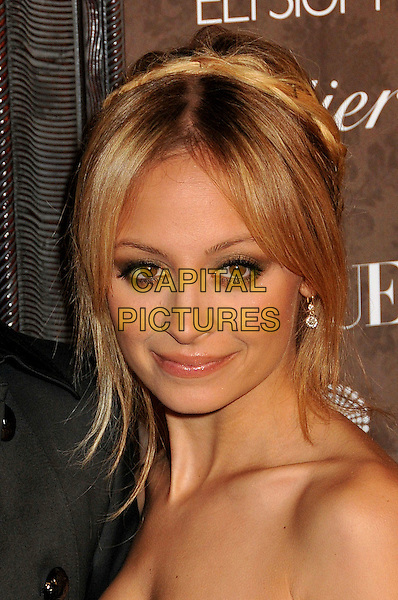 NICOLE RICHIE .2nd Annual Art of Elysium Heaven Gala at Vibiana, Los Angeles, CA, USA, .10 January 2009..portrait headshot braids hair plaits up.CAP/ADM/BP.©Byron Purvis/Admedia/Capital PIctures