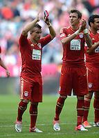 FUSSBALL   1. BUNDESLIGA  SAISON 2012/2013   3. Spieltag FC Bayern Muenchen - FSV Mainz 05     15.09.2012 Xherdan Shaqiri und Mario Mandzukic (v. li., FC Bayern Muenchen)
