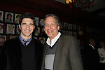 Jake Silbermann & Scott Bryce attend the opening night of Dracula on January 5, 2011 at the Little Shubert Theatre, New York City, New York and after party at Sardis. (Photo by Sue Coflin/Max Photos)