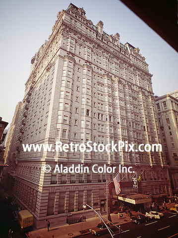 Bellevue Stratford Hotel, Philadelphia PA. 1950's Exterior