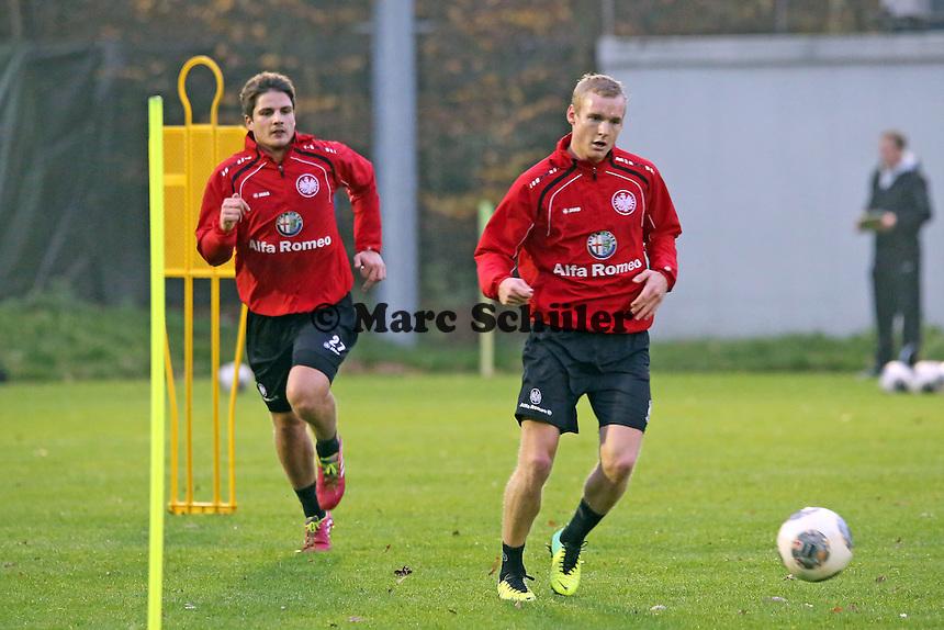 Pirmin Schwegler und Sebastian Rode (Eintracht)