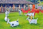 Loja de artesanato Oficina de Agosto no povoado de Bichinho. Minas Gerais. 2015. Foto de Sergio Amaral.