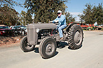 Annual fall Gas-Up at McFarland Ranch near Galt, Calif. of Branch 13, Early-Day Gas Engine and Tractor Association. (EDGE & TA)..1950s Ferguson Model 30 tractor in battleship gray